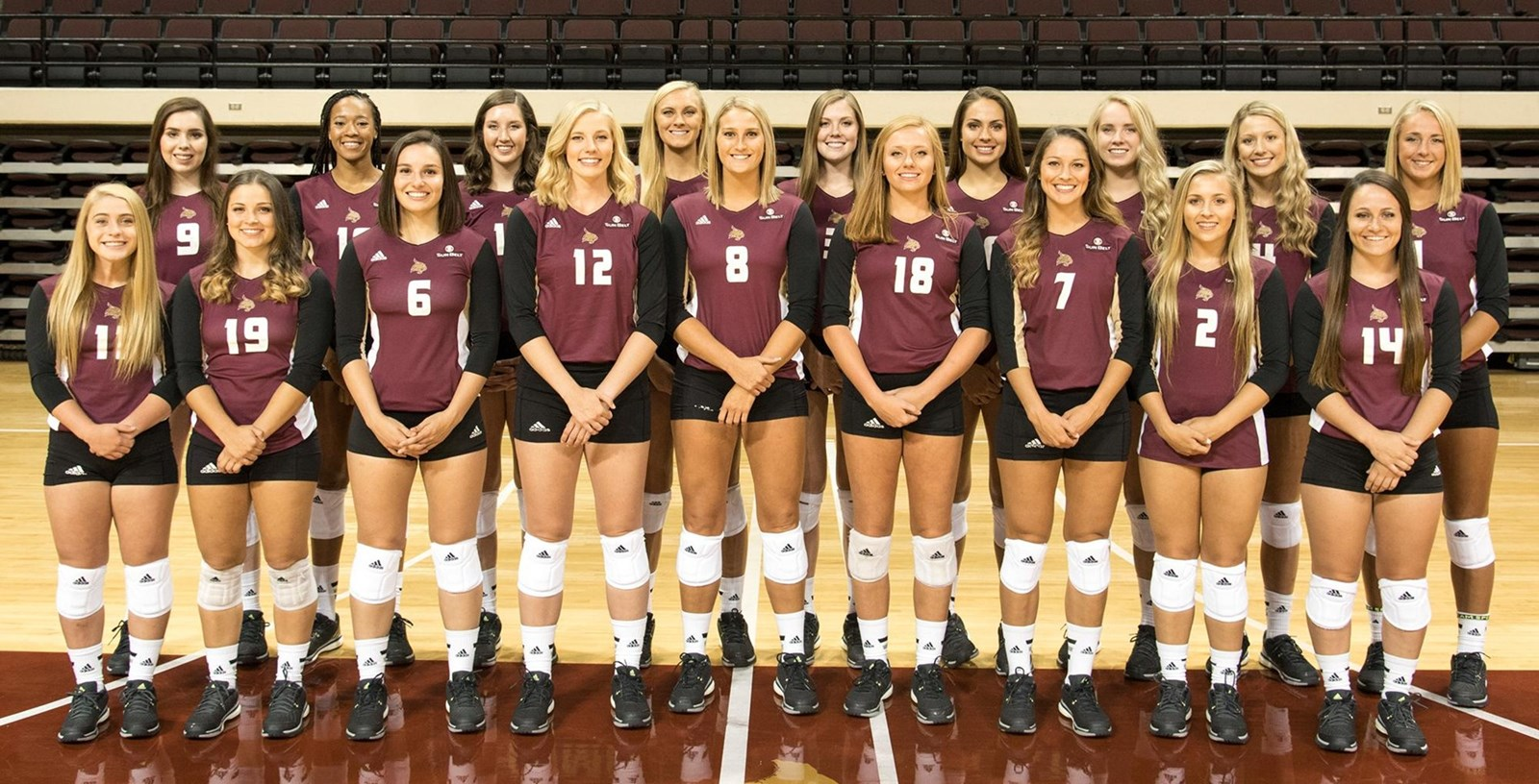 2016 Volleyball Roster Texas State Athletics