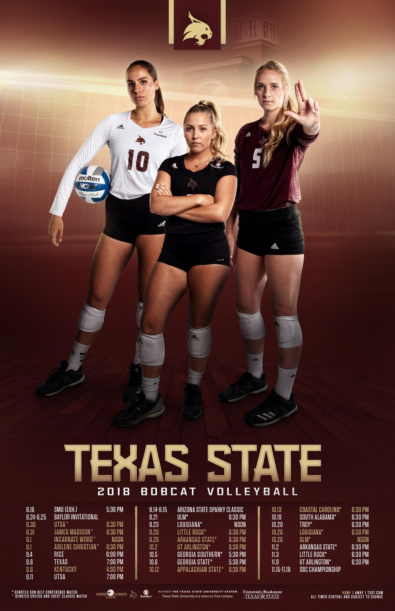 Download Promo Schedules - Texas State